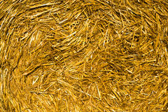 Straw stack Royalty Free Stock Photography