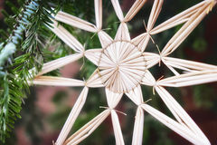 Straw star Stock Images