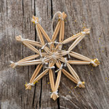 Straw star Stock Photos