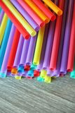 Straw straws plastic drinking background colourful  full screen single use pollution. Straw straws plastic drinking background colourful full screen single use Stock Photos