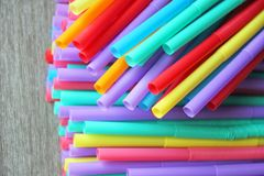Straw straws plastic drinking background colourful  full screen single use pollution. Straw straws plastic drinking background colourful full screen single use Stock Image