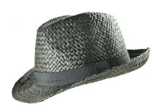 Straw summer hat Stock Photography