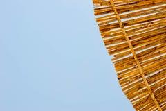 Straw Sunshade royalty free stock images