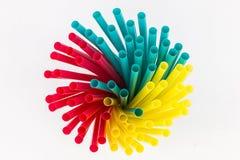 Straw Swirl Image stock