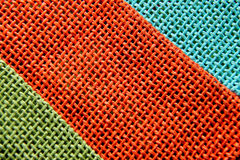 Straw texture. Texture of a coloured  straw bag Royalty Free Stock Image
