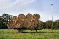 Straw wagon Royalty Free Stock Photos