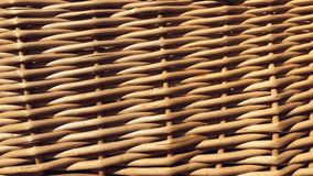 Straw weaving. Straw weaving for background. Weave from natural materials stock photography