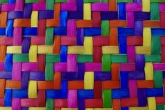 Straw Weaving colorido Fotos de archivo