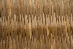 Straw Weaving. Interlocking pieces of straw as natural background royalty free stock image