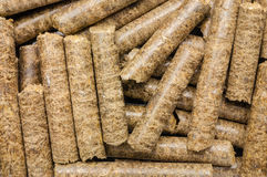 Straw wheat pelleted Stock Images