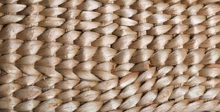 Straw woven background. Rattan texture detail handcraft bamboo weaving royalty free stock images