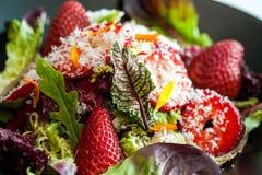 Strawbarry salad. Stock Photo