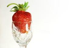 Strawbberries e quivi Fotografia de Stock Royalty Free