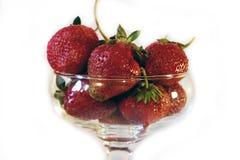 Strawbberries et kiwi Photographie stock libre de droits