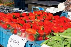 Strawberies doces Imagens de Stock Royalty Free
