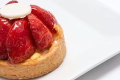 Strawberrie Cake Royalty Free Stock Photography
