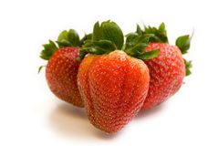 Strawberries 1 Stock Images