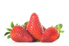Strawberries. Isolated on white background Royalty Free Stock Photography