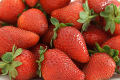 Strawberries. Close up of a bunch of strawberries Stock Photography