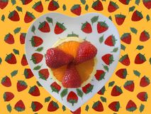 Strawberries 2 Royalty Free Stock Image