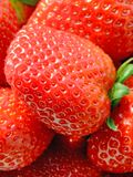 Strawberries. Close-up of lots of ripe strawberries Royalty Free Stock Photography