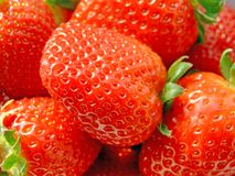 Strawberries. Close-up of lots of fresh ripe strawberries Royalty Free Stock Images