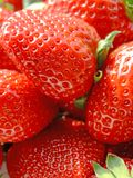Strawberries. Close-up of fresh ripe strawberries Royalty Free Stock Images