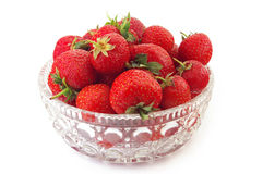 Strawberries. Fresh strawberries isolated on white background Stock Images