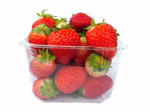 Strawberries. Ripe red strawberries stock photography
