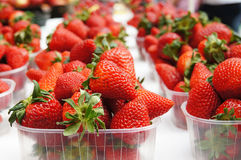 Strawberries. Picture of red fresh strawberries royalty free stock image