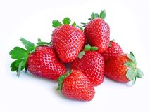 Strawberries. Strawwberries isolated on white background Stock Photo