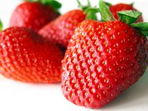 Strawberries. Ripe strawberries Stock Photo