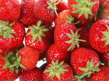 Strawberries. Close-up, suitable as background Stock Photo