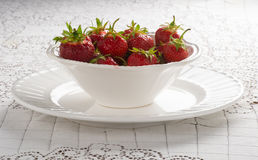 Strawberries Anyone? Royalty Free Stock Photography