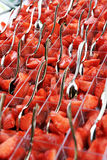 Strawberries as appetizers Stock Photo