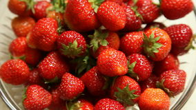 Strawberries background. Full HD with motorized slider. 1080p. stock video footage