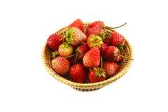 Strawberries Basket Royalty Free Stock Photo