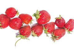 Strawberries berry isolated on white background Royalty Free Stock Photo