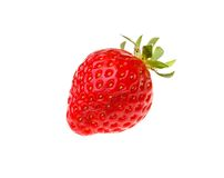 Strawberries berry isolated on white background Stock Image