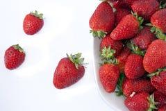 Strawberries bowl Royalty Free Stock Photo