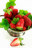 Strawberries in the bowl Royalty Free Stock Image