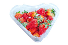 Strawberries in box.. Royalty Free Stock Image