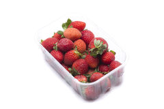 Strawberries box Royalty Free Stock Images