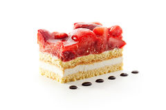 Strawberries Cake Royalty Free Stock Images