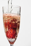 Strawberries and champagne Royalty Free Stock Images