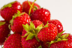 Strawberries. Close-up photo of strawberries Royalty Free Stock Photography