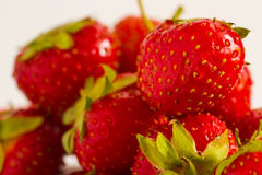 Strawberries. Close-up photo of strawberries Royalty Free Stock Photo