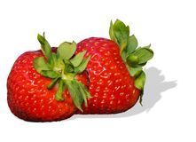 Strawberries, close up Royalty Free Stock Images