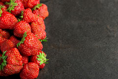 Strawberries with copy space Royalty Free Stock Image