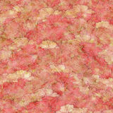 Strawberries and Cream Fluffy Pink Background royalty free illustration
